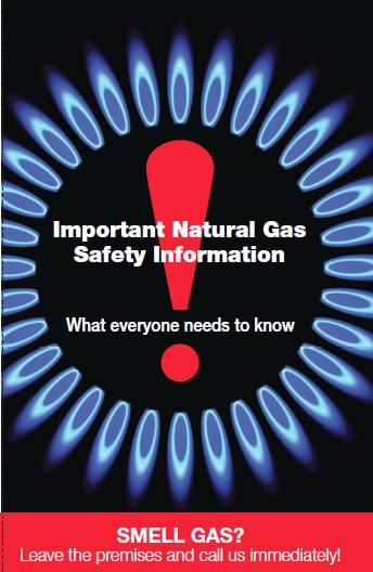 Important Natural Gas Safety Information