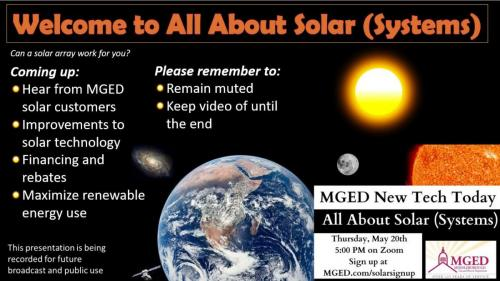 All About Solar Video