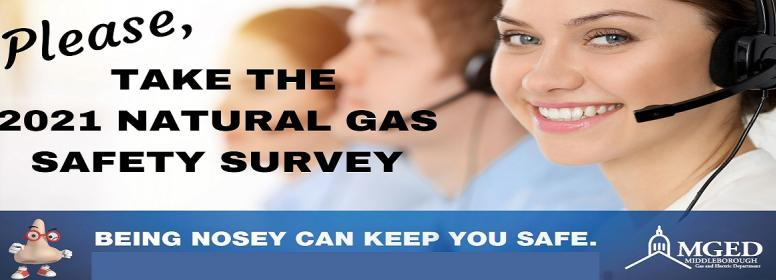 please take our natural gas safety survey