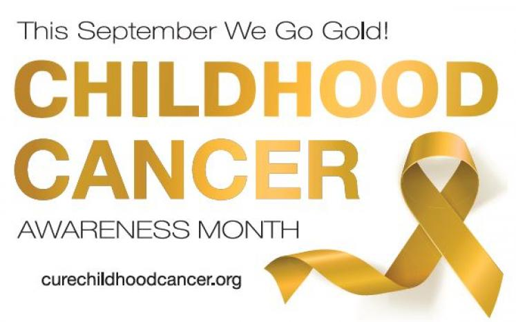 Go Gold to defeat Childhood Cancer