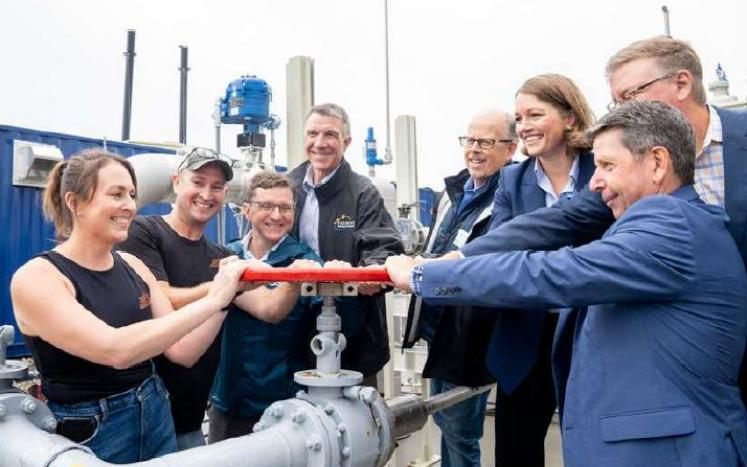 Turning on the valve for renewable natural gas
